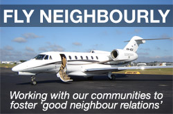 Fly Neighbourly - Working with our communities to foster 'good neighbour relations'